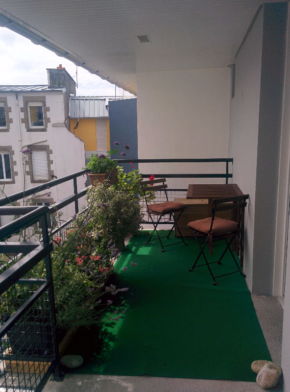 Recouvrance - T3 Meublé - balcon + Parking