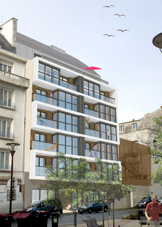 Brest Centre - Type 4 neuf  de 99 m²  - ascenseur et parking