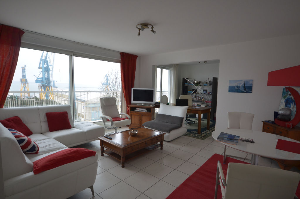 Brest Rive Droite Appartement T4 vue mer