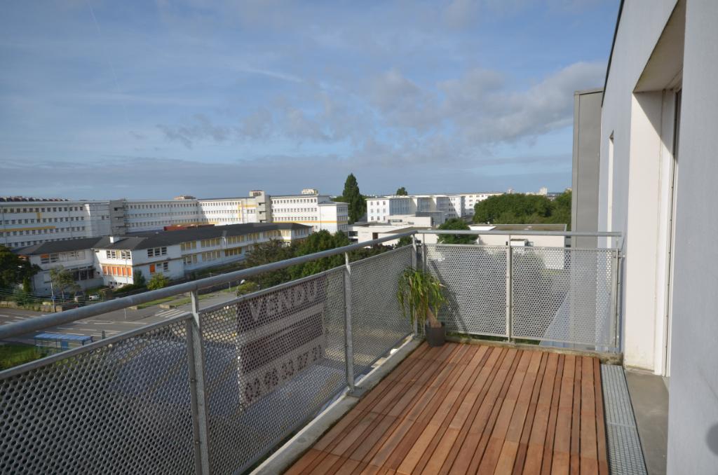 Exclusivité - Brest Appartement T4 Kérichen vue dégagée
