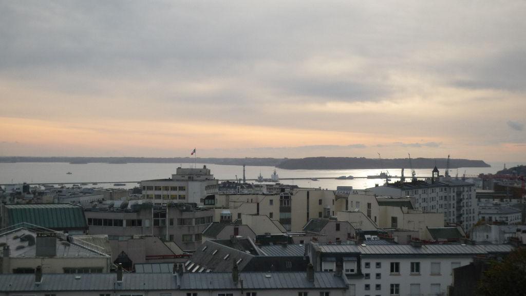 Appartement BREST -CENTRE VILLE -VUE RADE- Terrasse