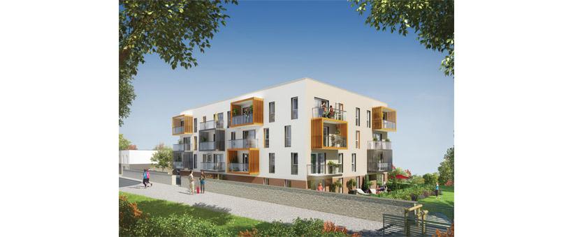 BREST LAMBEZELLEC - Appartement T3 de 64m² avec jardin et parking