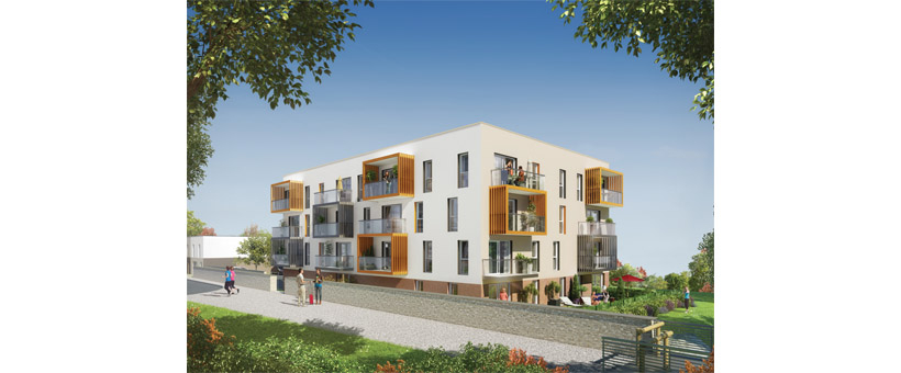 BREST LAMBEZELLEC - Appartement T3 de 64m² avec balcon