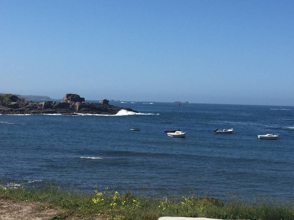 PORSPODER - Maison vue mer à 30 m de la plage