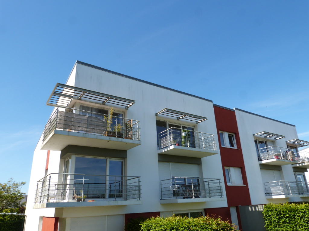 Brest Rive Droite Type 3 terrasse