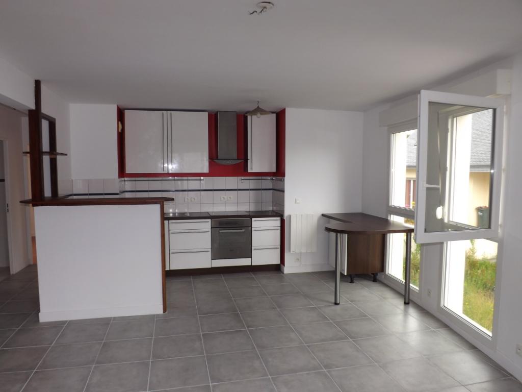 BREST RIVE DROITE- Appartement T3 63m²-Terrasse 40m²-Garage- résidence 1997