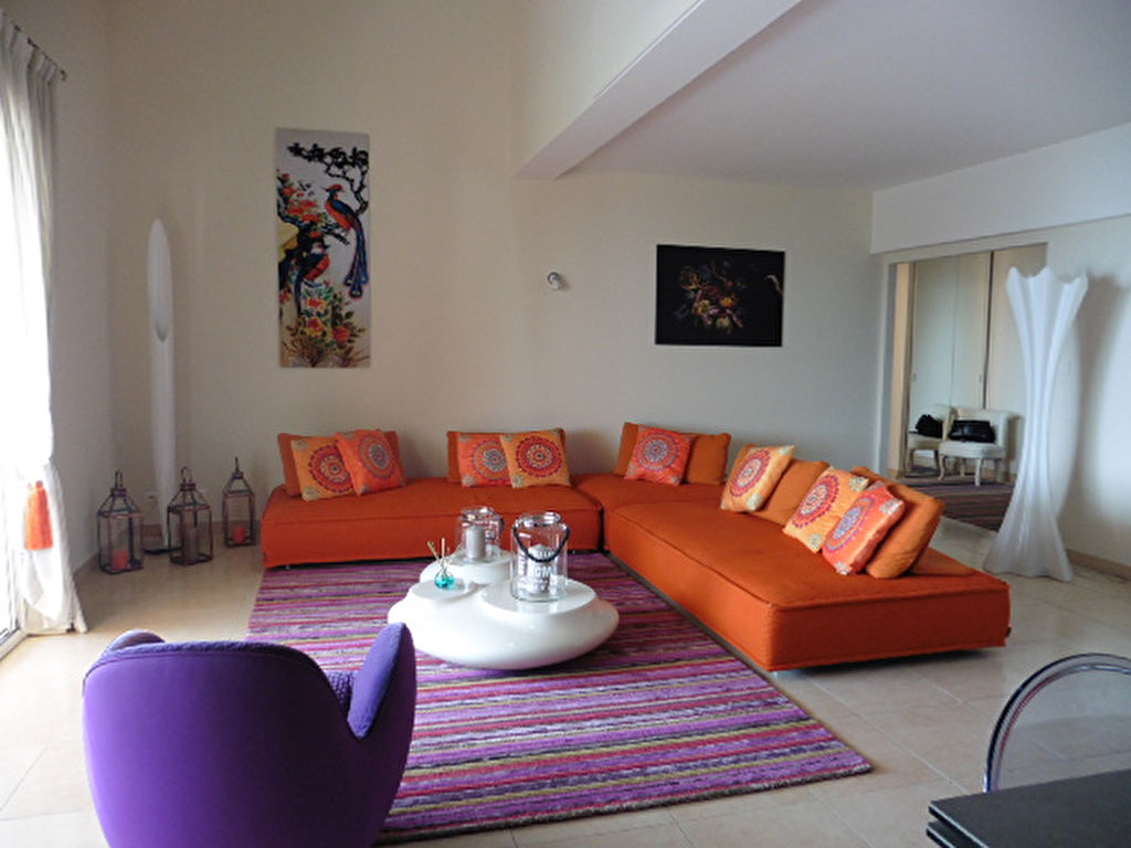 Sanguinaires appartement d'exception duplex F6  200 m² belle vue mer vendu Meublé