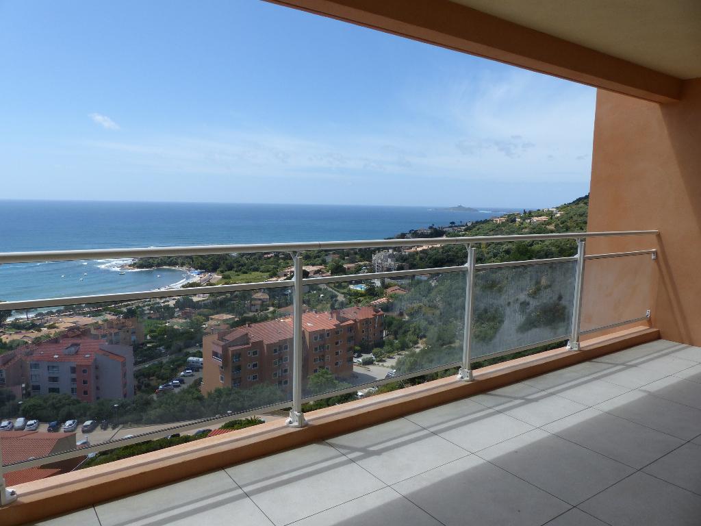 Sanguinaires Appartement  NEUF  4 pièce(s) 105 m2 vue mer dernier étage