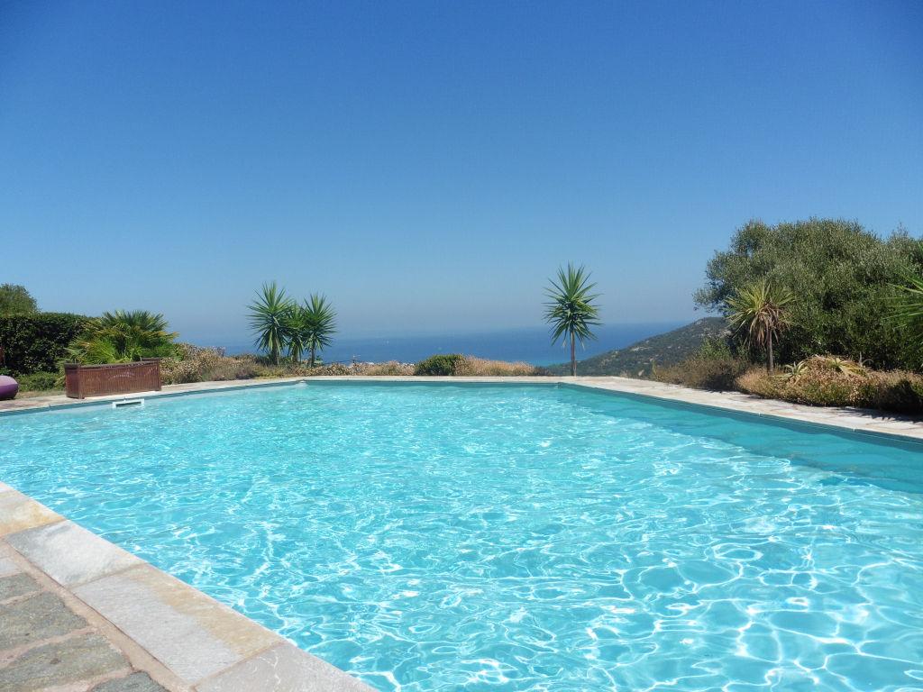 Villa ILE ROUSSE - 7 pièces 300 m2  avec vue mer et piscine