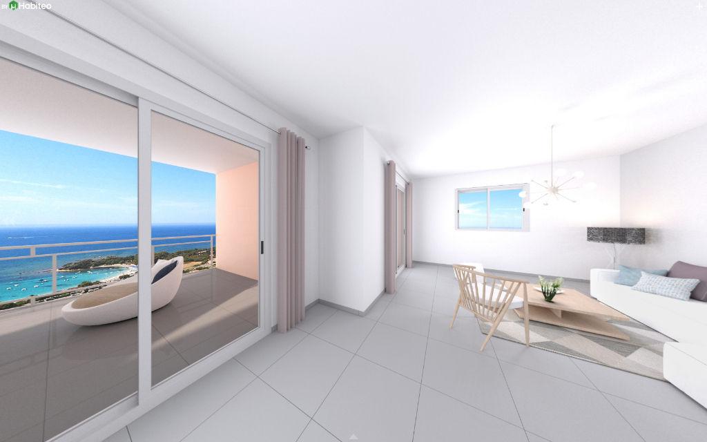 Ajaccio Sanguinaires Programme neuf le Panoramique T4 102.17 m2 belle vue mer