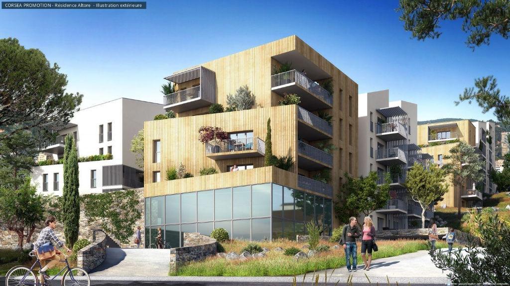 Programme neuf  Ajaccio Studio neuf 23 m2 , terrasse/parking en sous sol