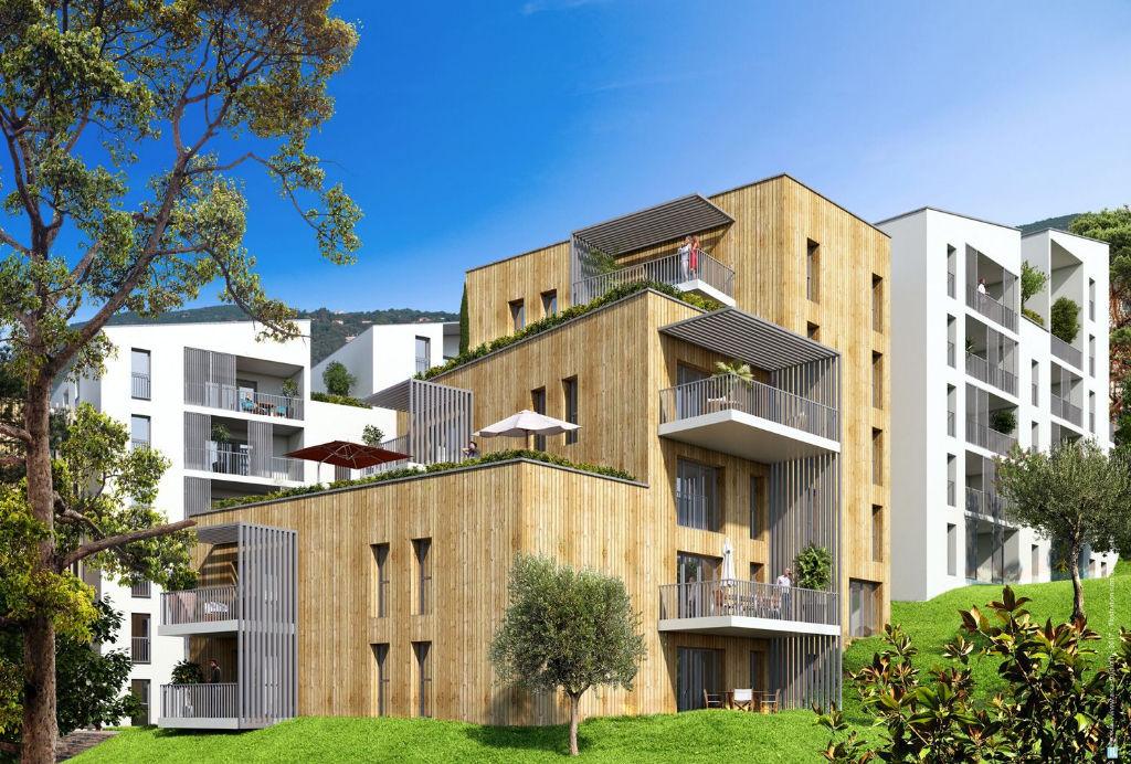 Ajaccio T3 neuf  56.4 m2, terrasse/parking en sous sol