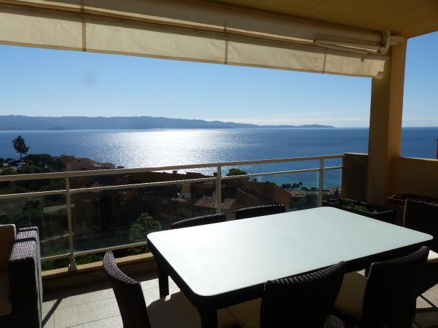 Ajaccio Sanguinaires  Santa Lina duplex  5 pièce(s) 120 m2 dernier étage vue mer