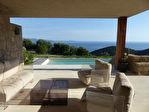 Sur les hauteurs d'Ajaccio villa d'exception 300m² avec vue imprenable  sur le golfe