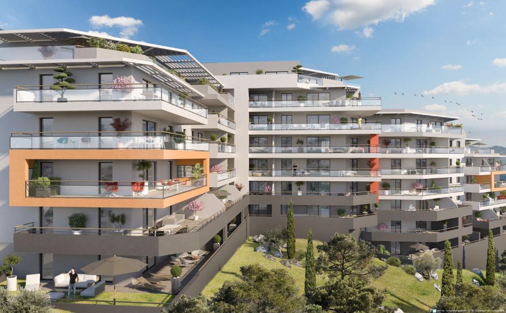 Programme neuf Ajaccio  entrée de ville 1 pièce(s) 31.90 m2proche plage