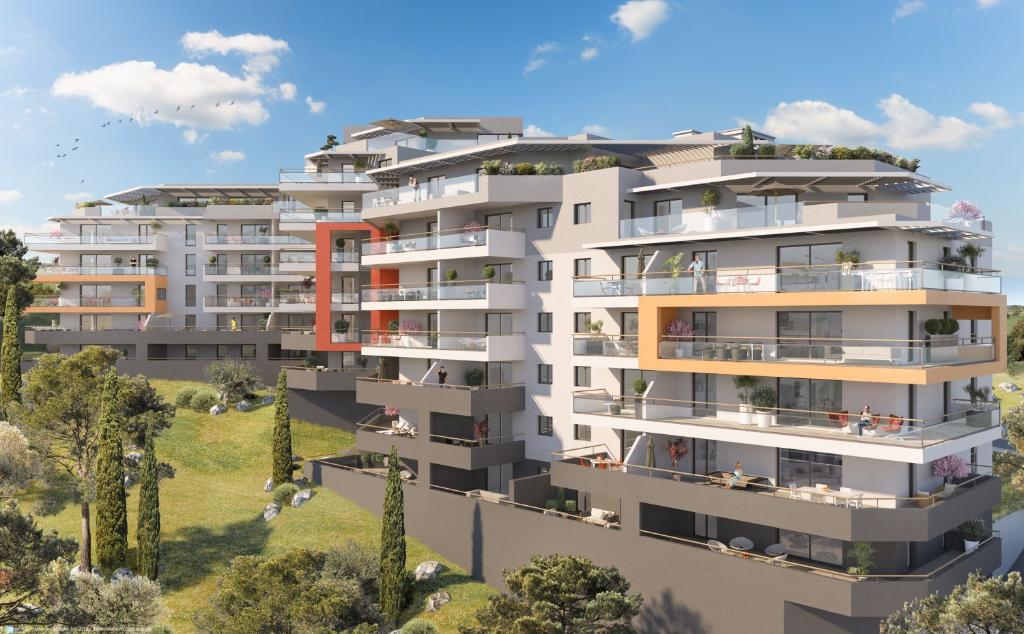 Programme neuf Ajaccio entrée de ville Vue mer 2 pièce(s) 41 m2