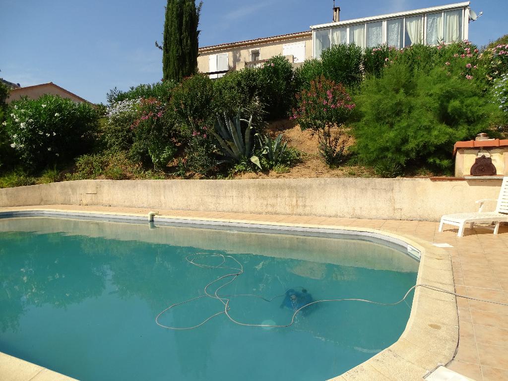Charmante Villa Alata 5 pièce(s) 110 m2 avec piscine belle vue dégagée