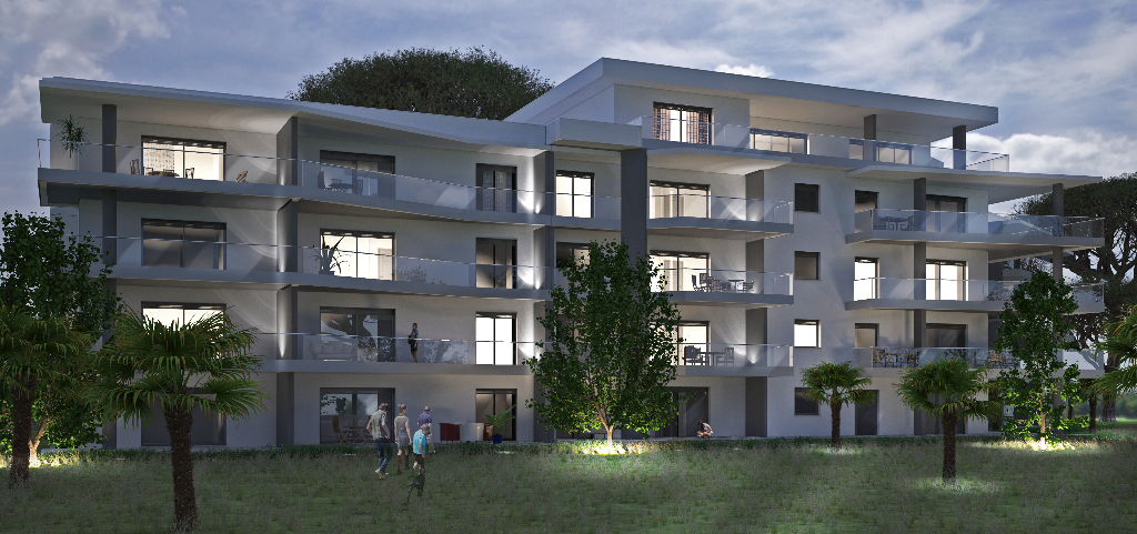 Appartement Albitreccia 3 pièce(s) 80 m2 proche plage d'Agosta vue mer