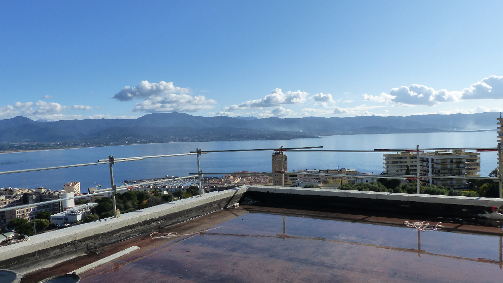 Ajaccio  F5 de prestige toit terrasse vue mer 172m²