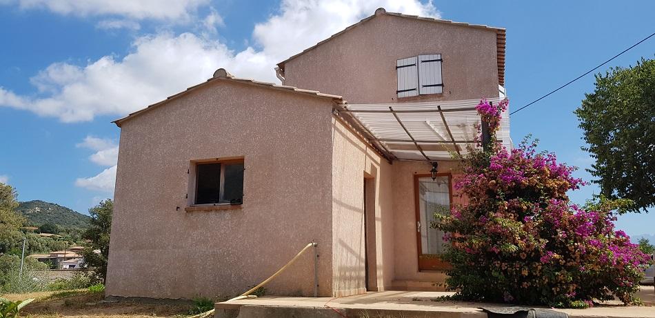 Ajaccio Maison  90 m2  Terrain 3 000m²
