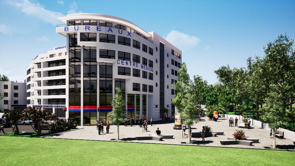 Locaux  à usage de bureaux secteur Rocade le Patio 2 à partir de 50m²