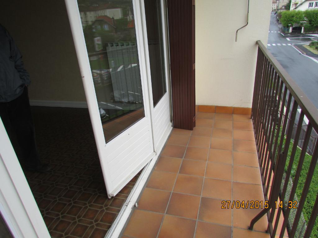 Appartement Aurillac 4 pièce(s) 71 m2 balcon, garage,chauff ind, gaz