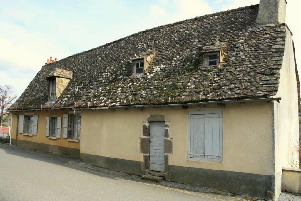 Maison de village en pierre avec petit jardin