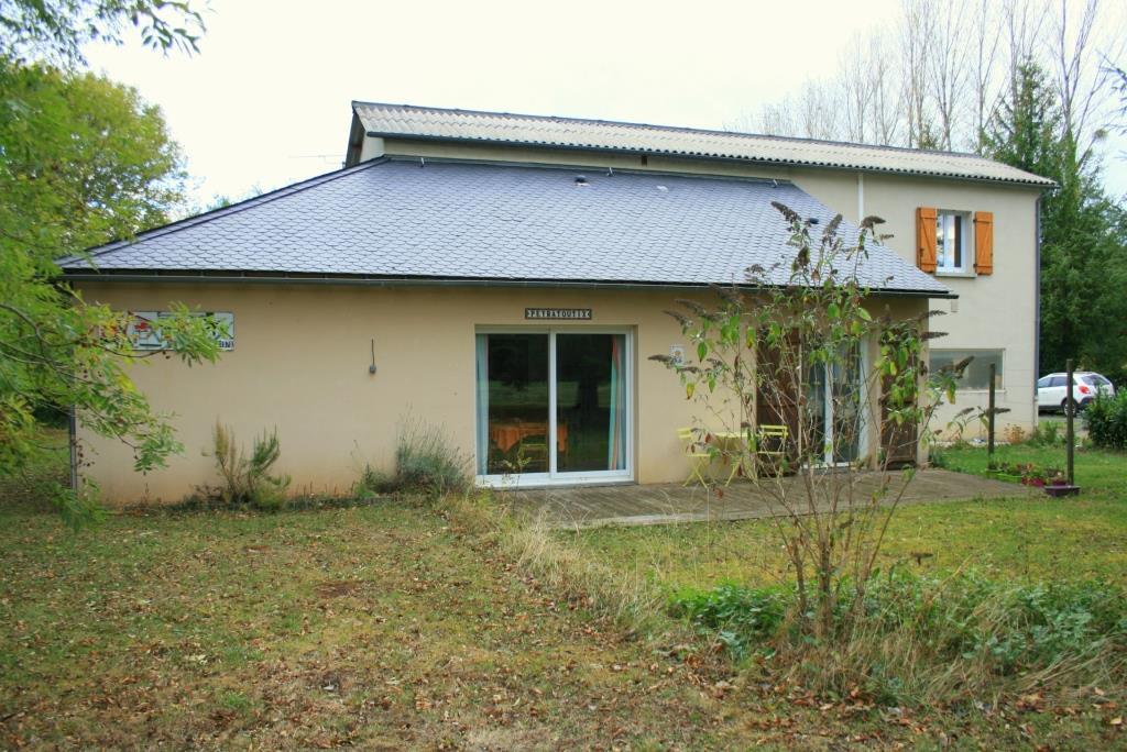 Maison Lacroix Barrez 87m² plus 152m² garage/atelier