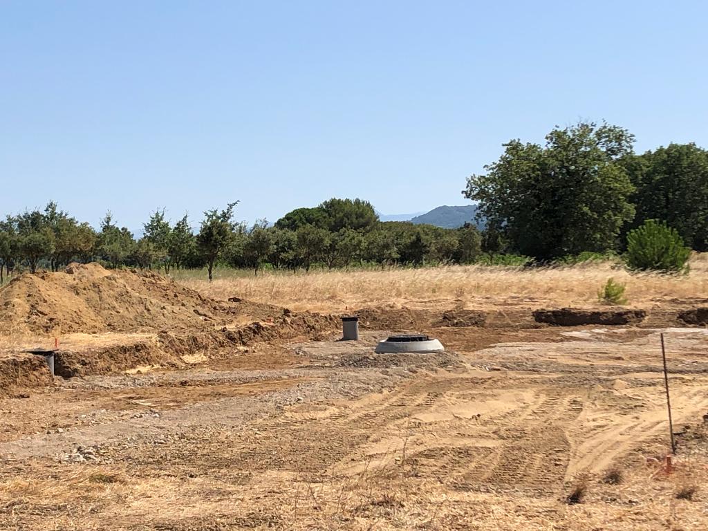 Lotissement de 6 parcelles à Ste Cecile Les Vignes