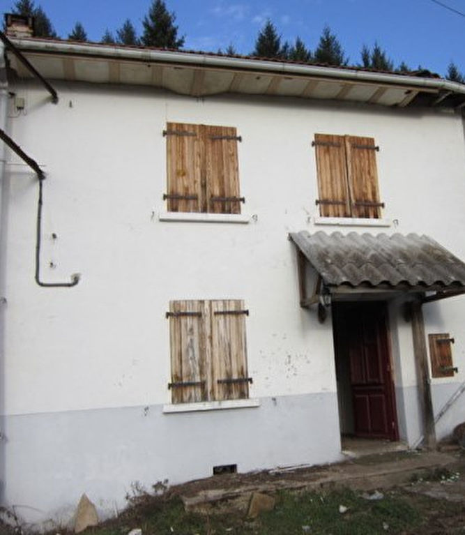 Saint Just En Chevalet prox. Maison et grange avec terrain