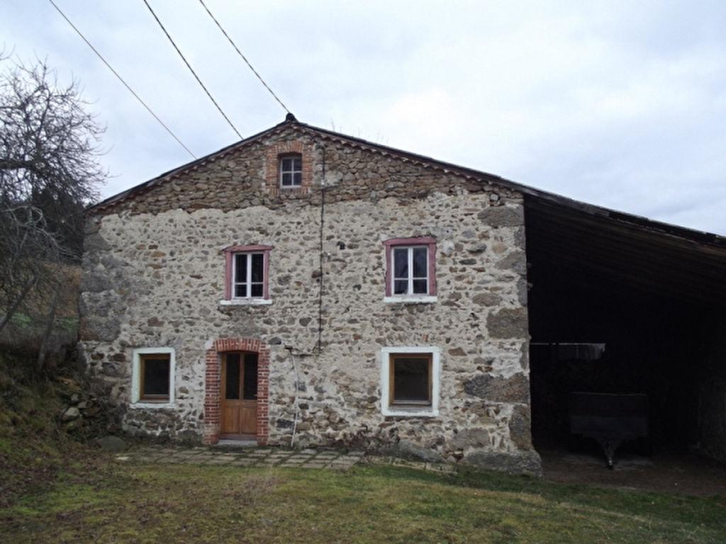 Chalmazel  Maison en pierre et terrain