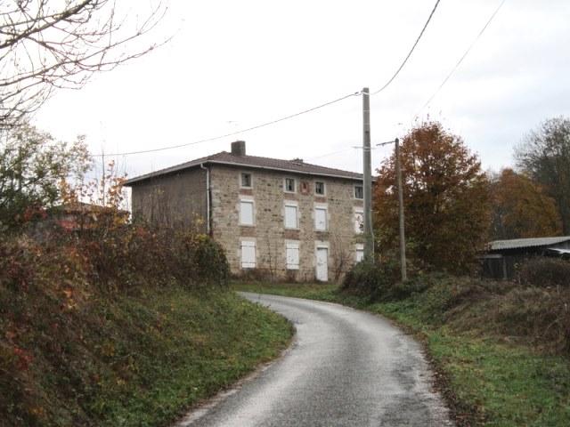 St Just En Chevalet Prox. Maison pierre et terrain