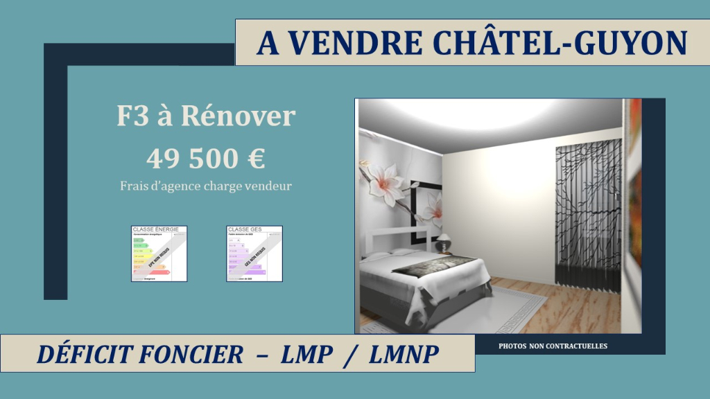 Chatelguyon Appartement F3