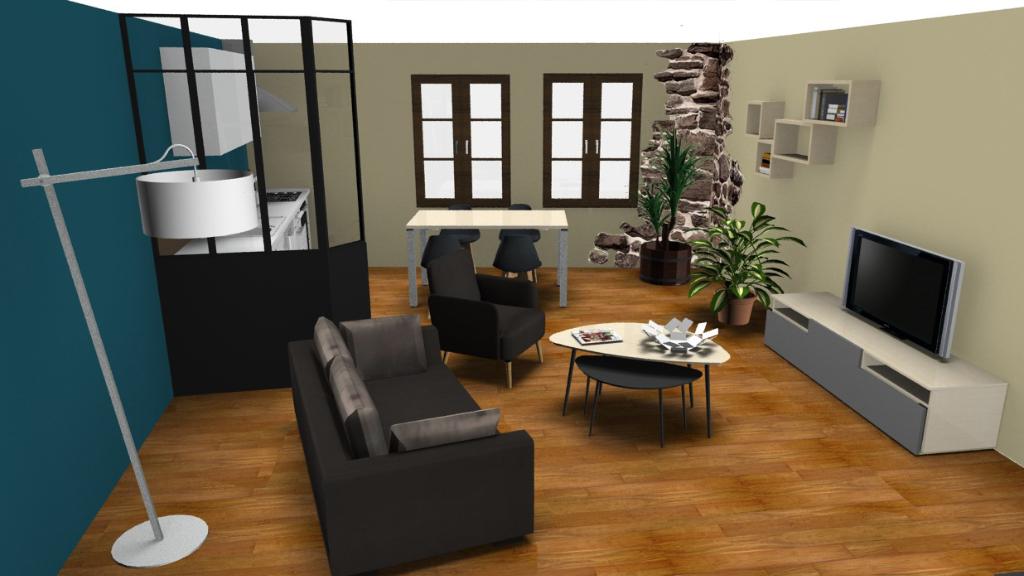 Volvic Appartement F3 à Rénover pour Colocation