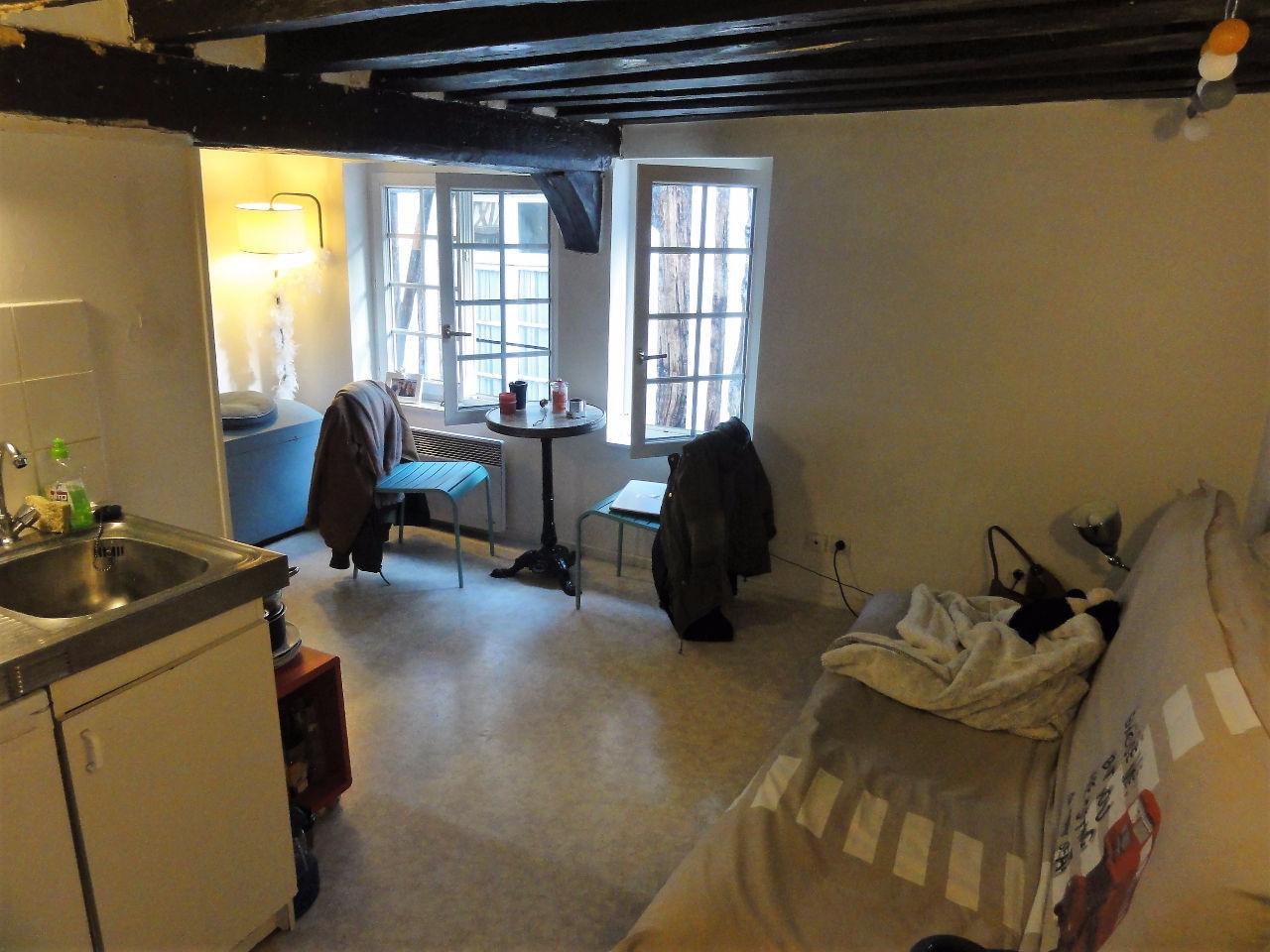 annonce location appartement rouen 76000 14 m 350 992737510588. Black Bedroom Furniture Sets. Home Design Ideas