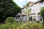Maison à vendre à  Nantes-Canclaux, belle demeure de charme de 1790  de 9 pièces, 5 chambres, bureau, beau jardin exposé Sud-Ouest, abri, cave, garage.
