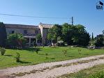 A vendre dans la campagne Cavaillonnaise mas mitoyen entièrement rénové de 158m² sur 4100m² de terrain 2/9