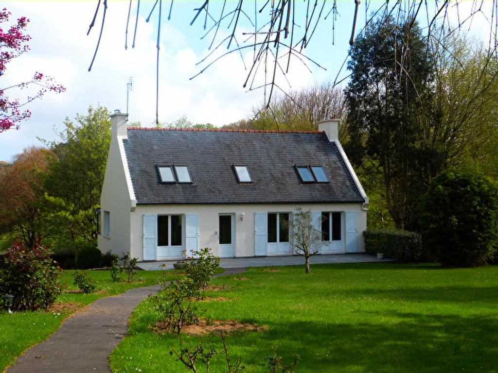 Finistère Nord, Plougoulm, cadre exceptionnel  maison 5 ch,  parc arboré .....