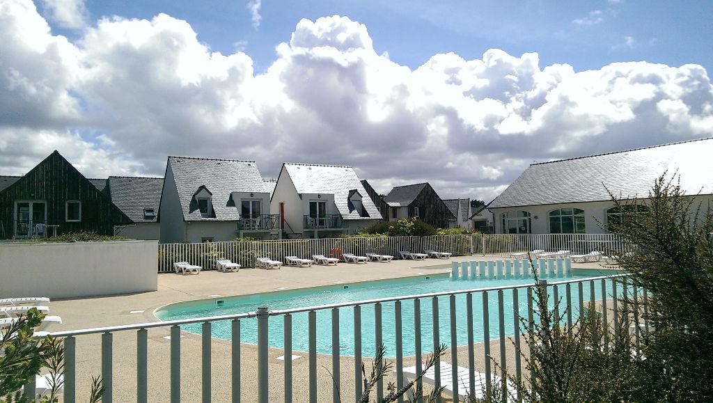 Saint Pol de Léon, appartement meublé, dans résidence, avec piscine ....