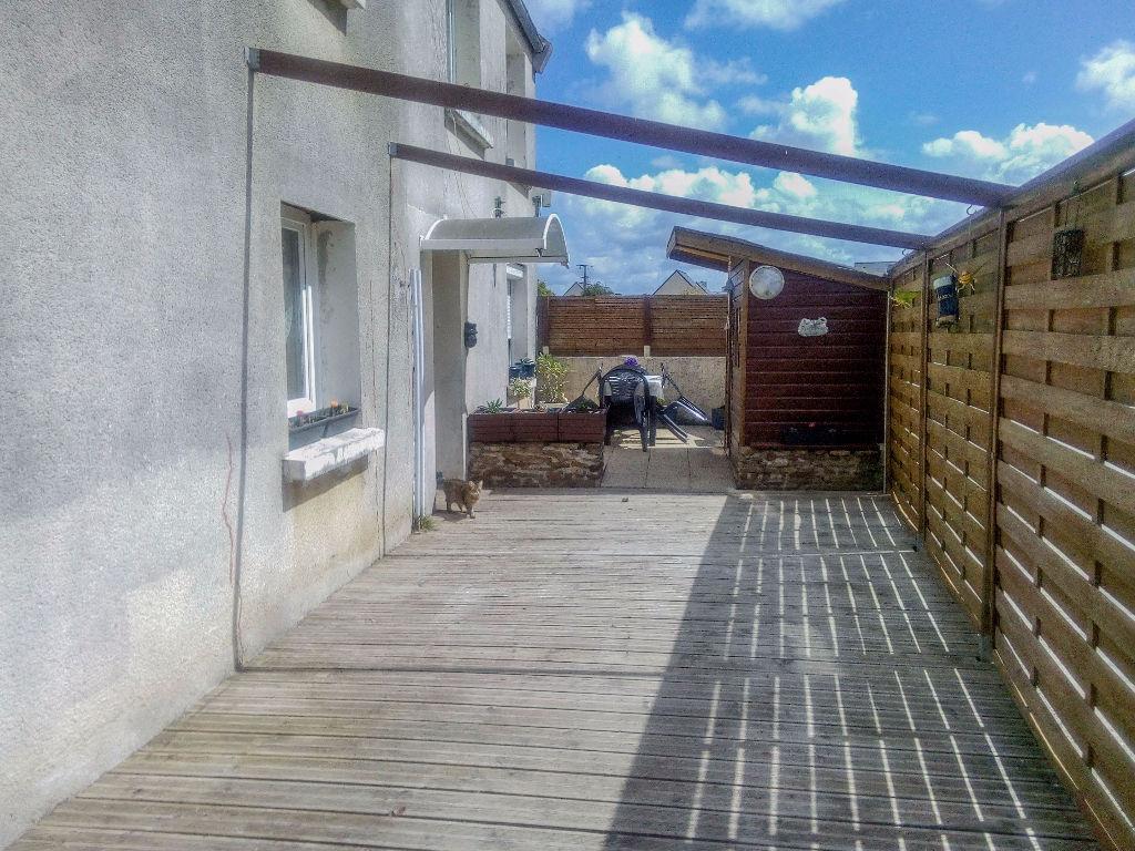 Finistère Nord, MESPAUL, maison 3 ch,  terrasse et jardin....