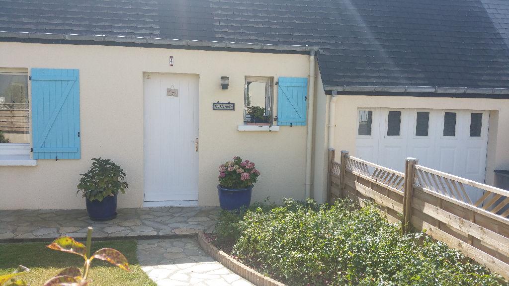 SAINT POL DE LEON, ville et plages à pieds, maison 4 ch, jardin, garage.