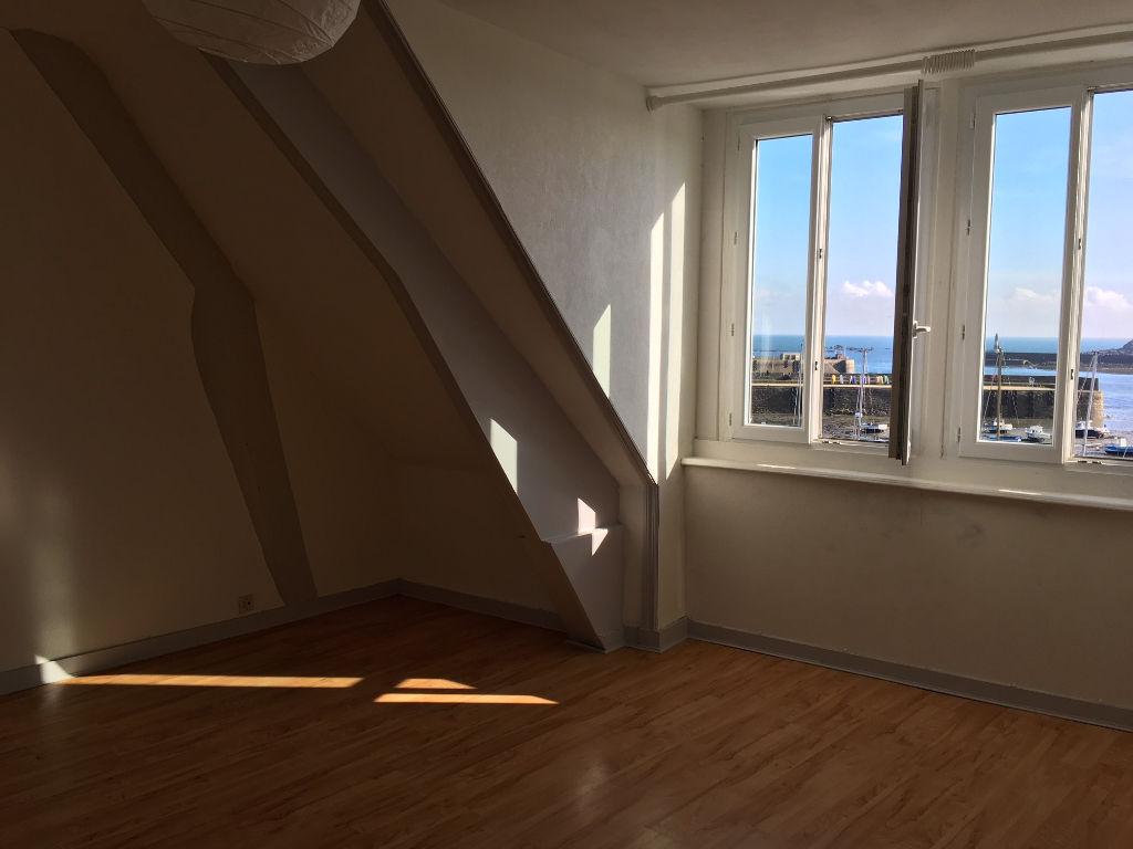 ROSCOFF, appartement 2 ch vue mer...