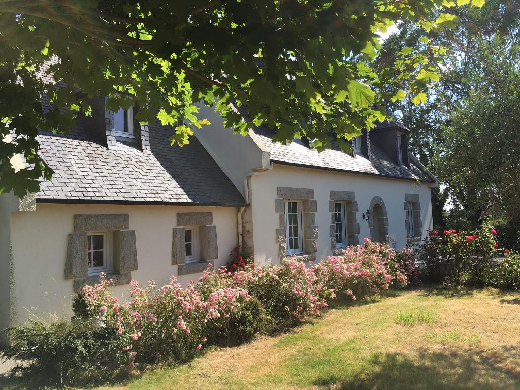 SAINT POL DE LEON,  campagne, maison 4 chambres vie de plain pied....
