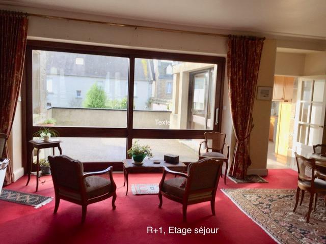 Finistère Nord ROSCOFF, appartement terrasse en duplex...