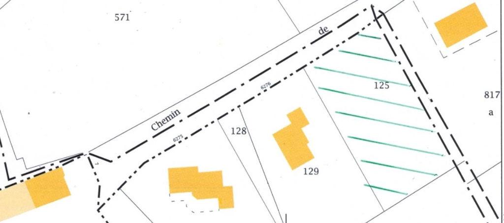 Terrain constructible de 1600m² prés du centre ville