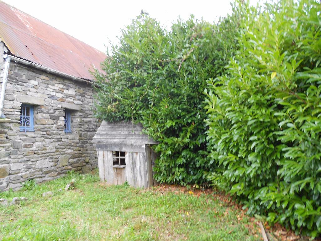 Maison de campagne en pierre avec cheminée , jardin et garage