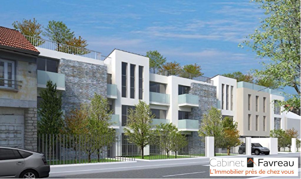 Cachan - Promenade de la Bièvres - Appartement 2 pièces avec Jardin