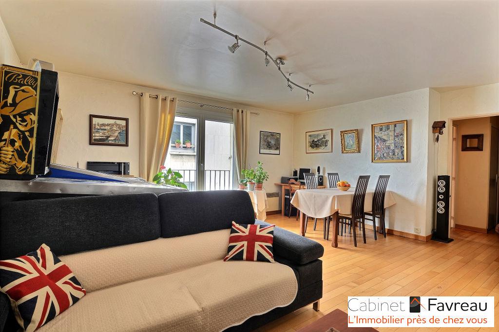 Choisy Le Roi  - Saint-Louis - Duplex 4 pièces 85.37 m2