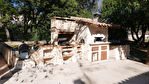 A vendre MEOUNES Les Montrieux maison traditionnelle de 88m²  type 4 exposée sud ouest avec piscine sur  beau terrain de 1970m² de terrain clôturé