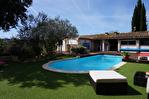 A vendre maison Type 6  sur Gareoult avec piscine vue dominante, dépendance